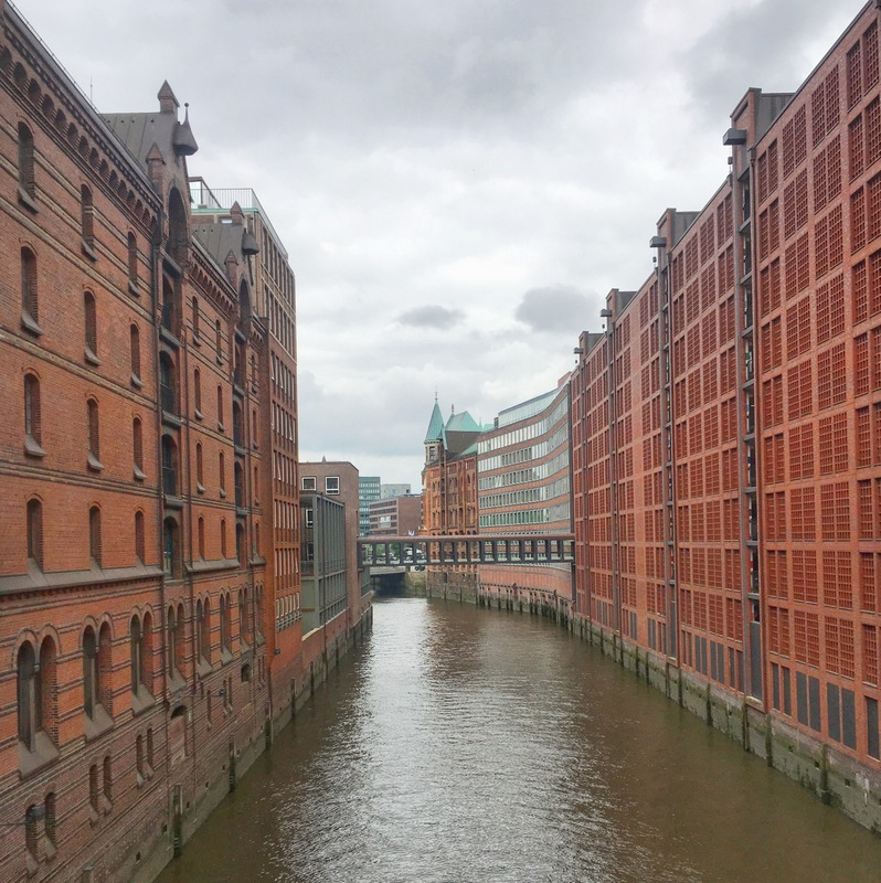 Speicherstadt - Warehouse district in Hamburg, Germany