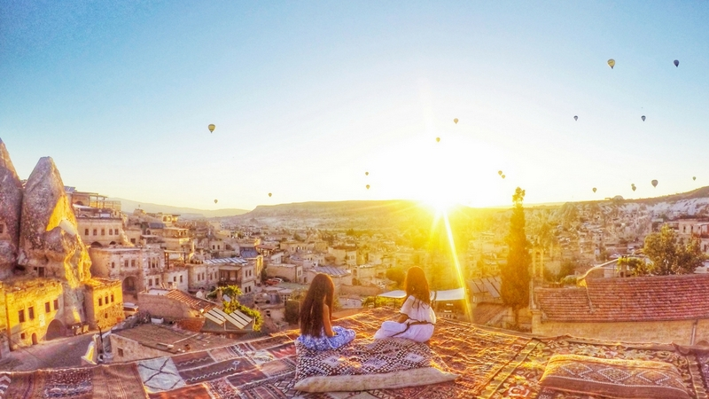 Sunrise view - Sultan Cave Suites, Cappadocia, Turkey