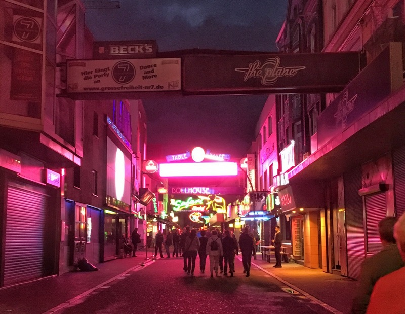 Reeperbahn – Hamburg's Red Light District