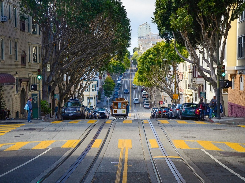 The streets of San Fransisco