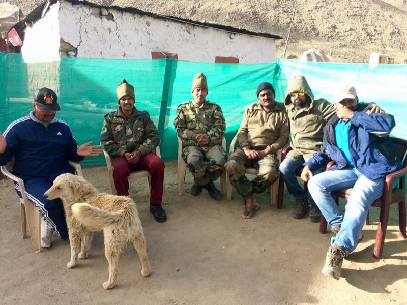 Chang La Army Bunker - Ladakh Road Trip