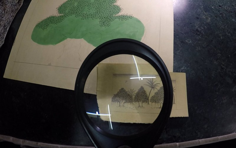Inside Bikaner's Miniature Art Studio