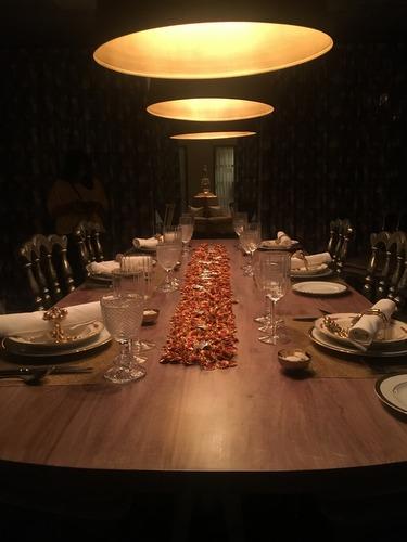 Museum Dinner set up at Narendra Bhawan, Bikaner