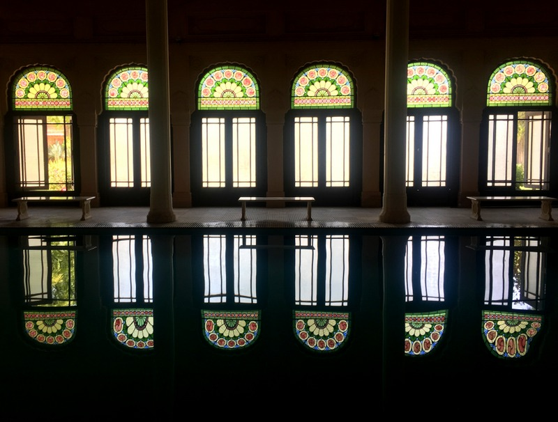 Indoor Pool at Lallgarh Palace, Bikaner
