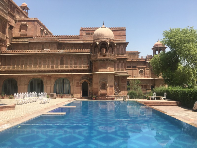 Pool area - Laxmi Niwas Palace, Bikaner