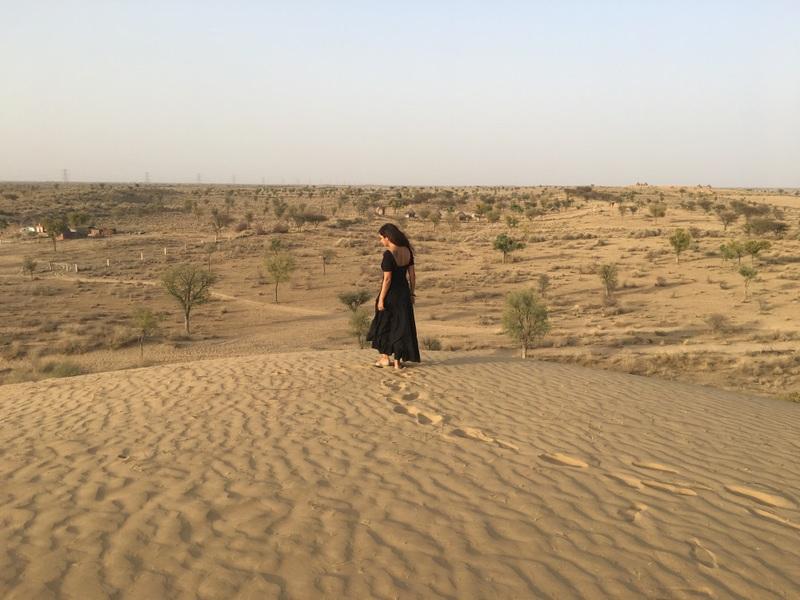 Little Sand Dunes just outside Bikaner, Rajasthan