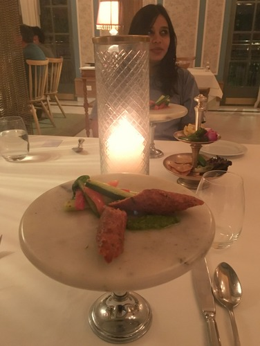 Mutton Kebabs in P&C - Narendra Bhawan's in house restaurant
