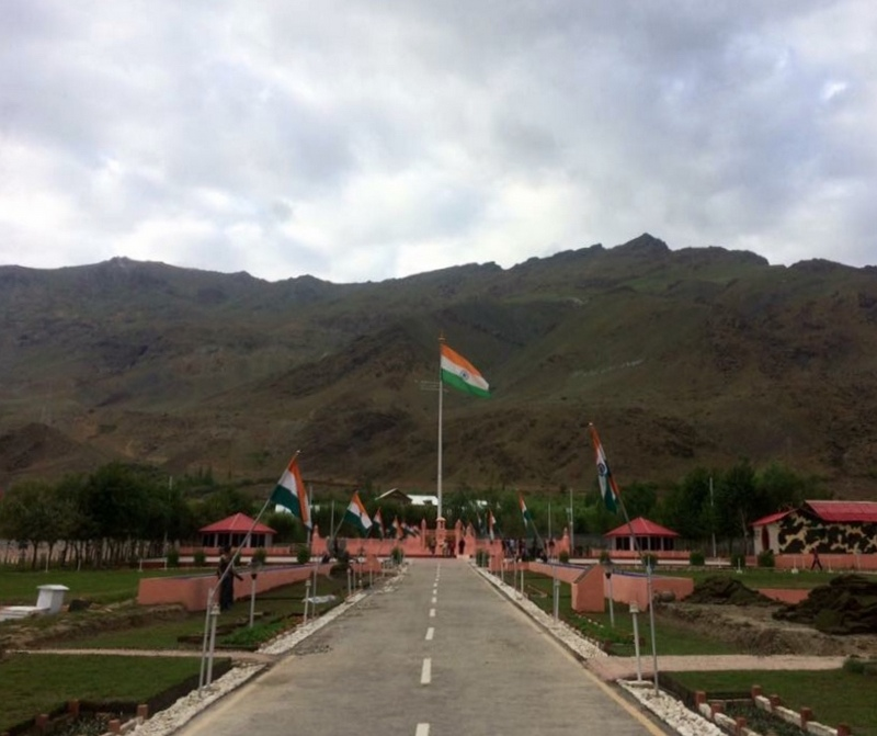 Kargil war memorial - Ladakh Road Trip Itinerary