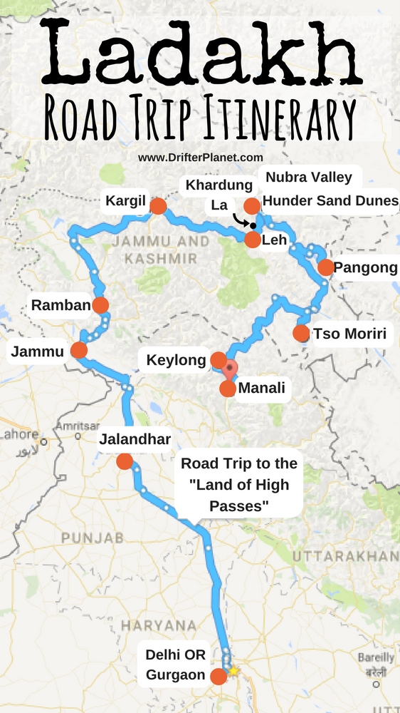 ladakh road trip itinerary stories and madness of 10 days on the road