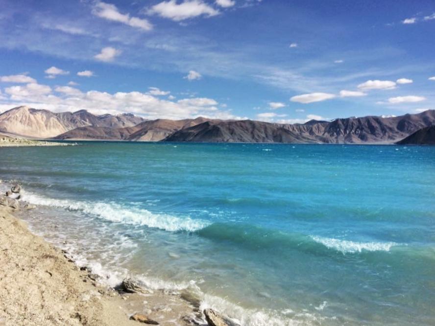 Pangong Lake - Ladakh Road Trip