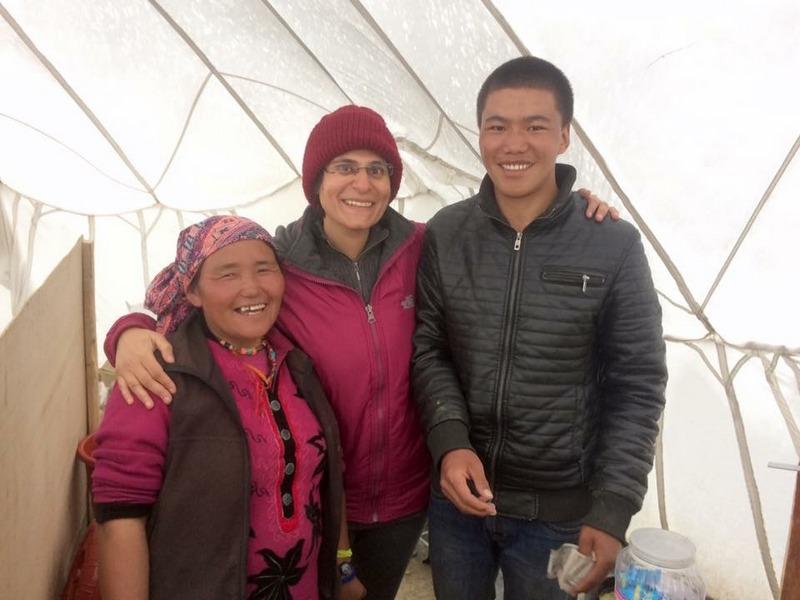 Sumdo cafe before Korzok Monastery - Ladakh Road Trip