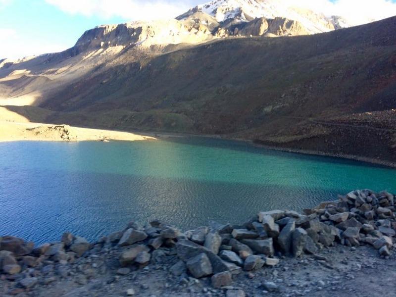 Suraj Tal a.k.a. Vishal Tal enroute to Keylong - Ladakh Road Trip Itinerary