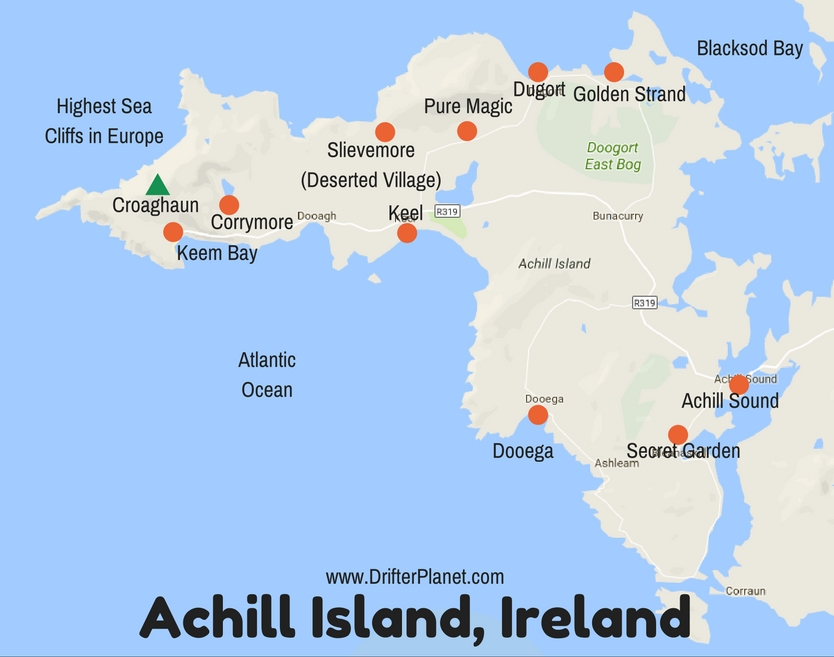 Achill Island Map Achill Island, Ireland – A Travel Guide to the Gem of County Mayo