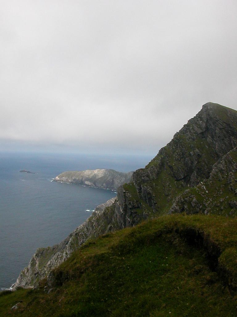 Croaghaun Mountain - Highest sea cliffs - Achill Island, Ireland
