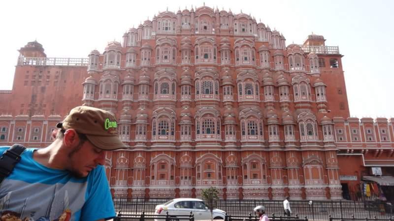Hawa Mahal in the Pink City - Jaipur, Rajasthan