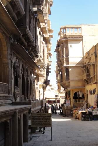 The Golden Streets of Jaisalmer, Rajasthan