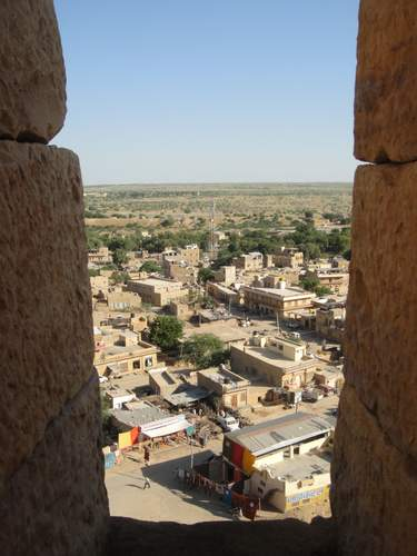The view from Jaisalmer Fort, Rajasthan