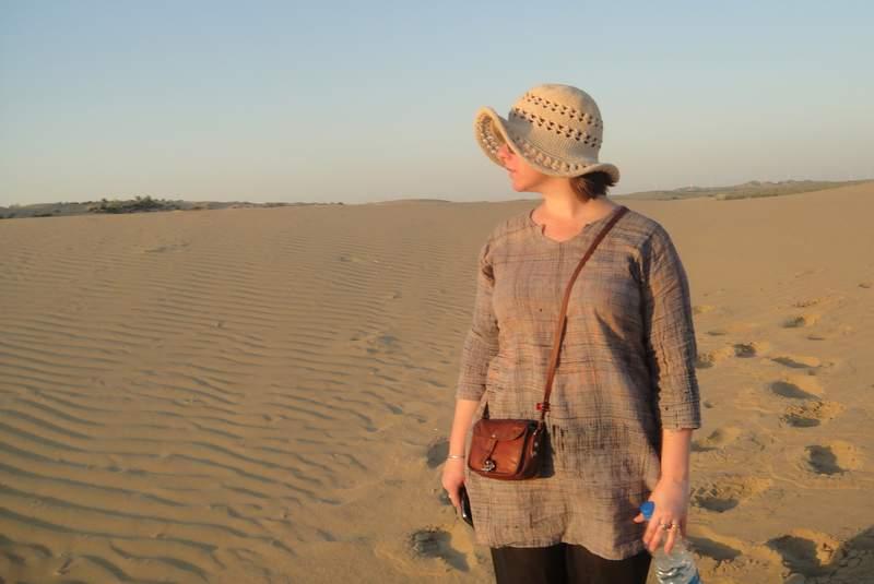 Khuri Sand Dunes near Jaisalmer, Rajasthan