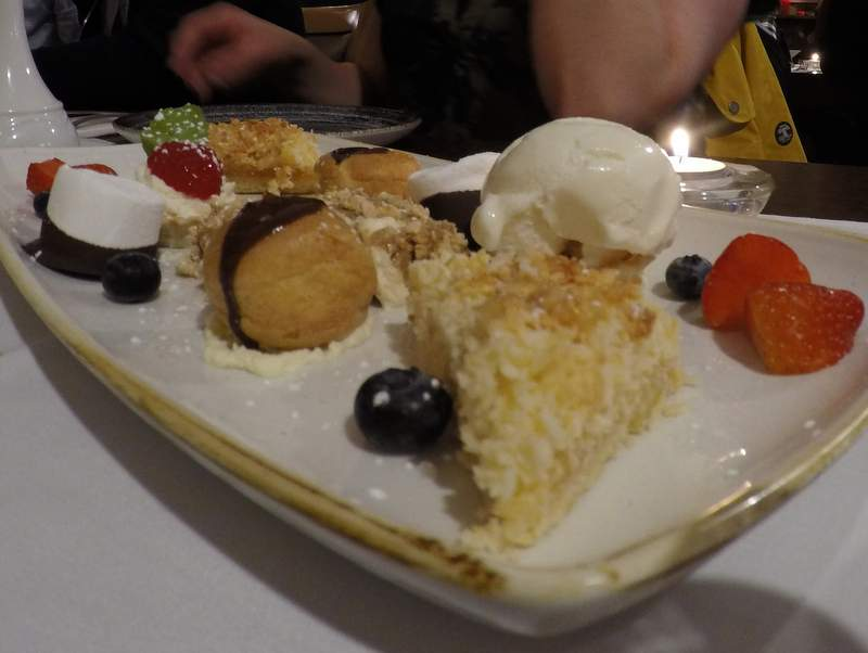 Delicious desserts at Madden's Bistro - Westport, County Mayo