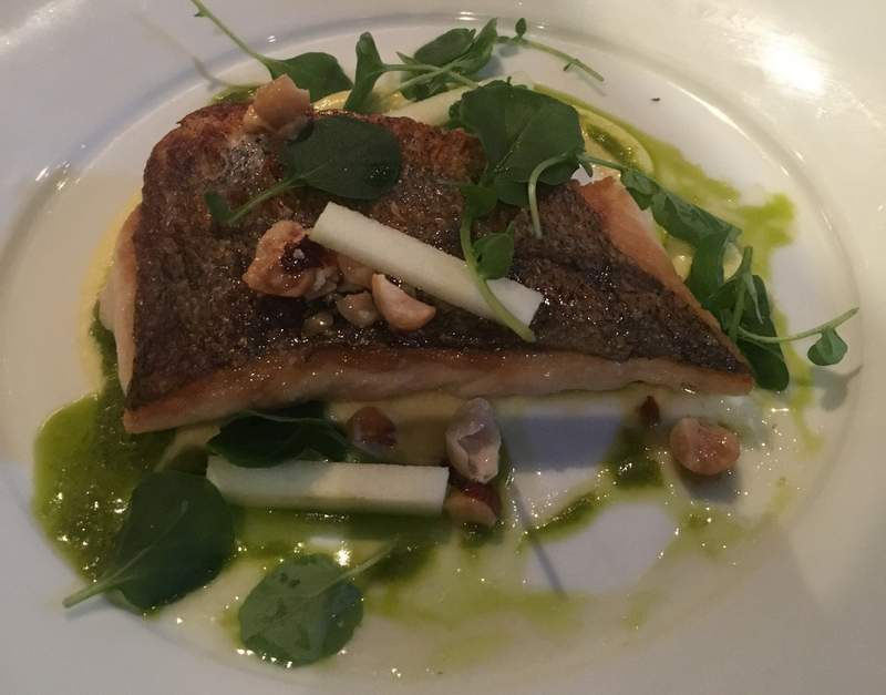 Pan Fried Hake fish at the Ideal Wall in Westport, County Mayo, Ireland