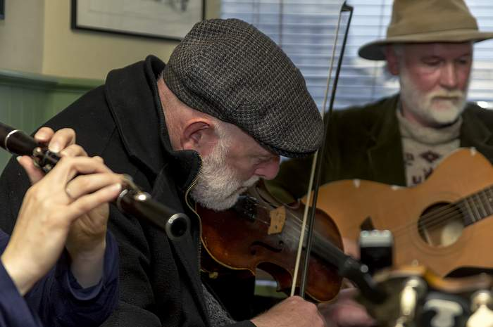 Live Trad Irish Music at Cobleer's Bar, Westport, Mayo