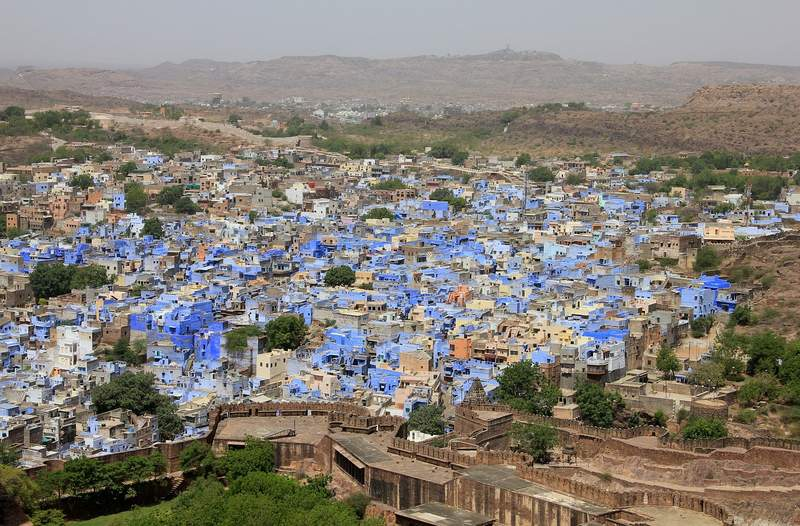 Jodhpur - the blue city - Color themed places to visit in Rajasthan