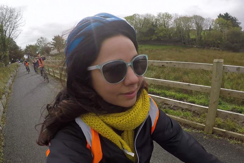 Bicycle ride in Westport, Ireland