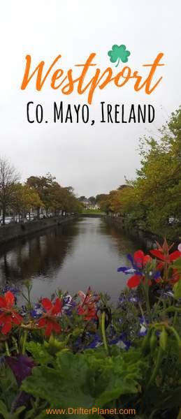 Carrowbeg River in Westport, Ireland - County Mayo