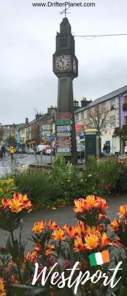 Clock Tower - Westport, Ireland - County Mayo