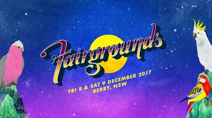 Fairgrounds Festival Australia - party flyer
