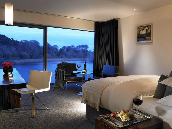 Lovely riverside suite at Ice House Ballina, Ireland