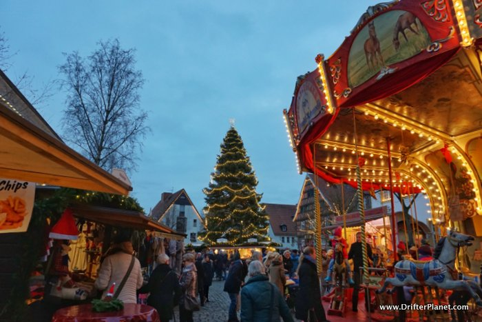 My First German Christmas Market - Christkindlmarkt Wiedenbrück