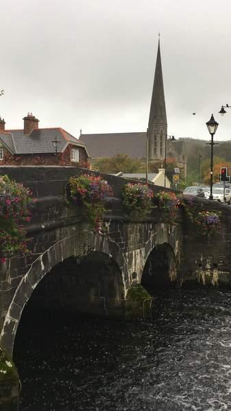 Old bridge in Westport, Ireland