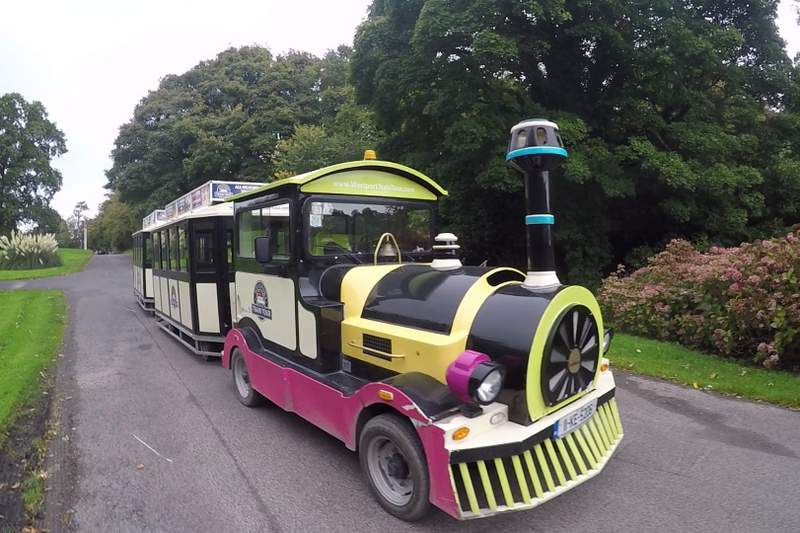 Westport Train - little toy train that you can ride to explore Westport, Ireland