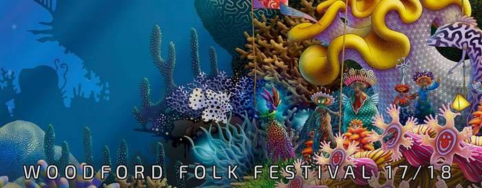 Woodford Folk Festival Australia - flyer
