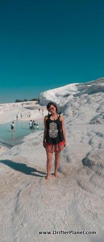 Pamukkale, Turkey - Enjoying Travertine Thermal Pools