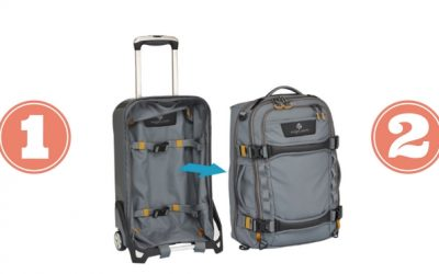 Travel Carry Bag Review: Eagle Creek Morphus™ – it's 2-in-1!