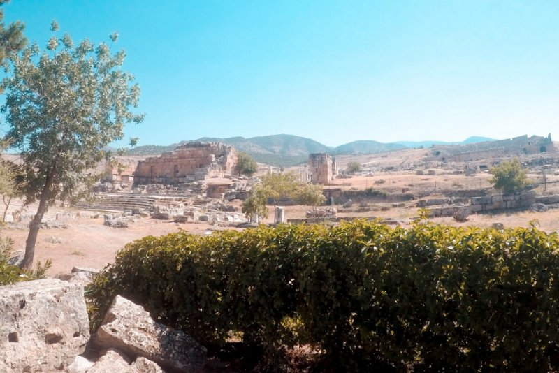 Hierapolis – a beautifully preserved ancient Roman site - Pamukkale, Turkey