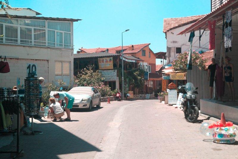 Local Market in Pamukkale, Turkey - I really enjoyed it