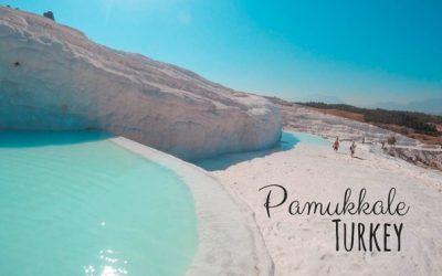 Pamukkale in Turkey – Spectacular Travertine Thermal Pools [+ Hierapolis]