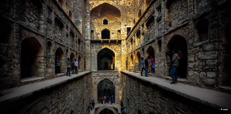 Agrasen Ki Baoli - Places to visit in Delhi