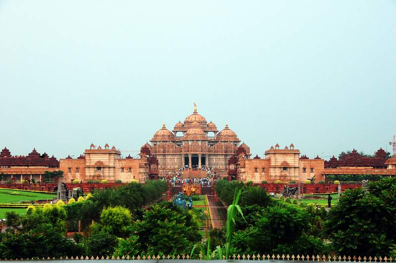 Akshardham Temple Delhi - You Cant Take Your Camera Inside