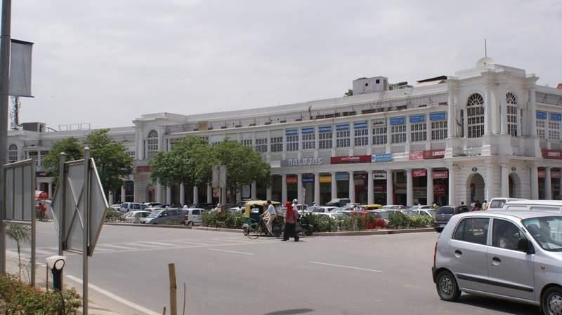 Connaught Place in Central Delhi