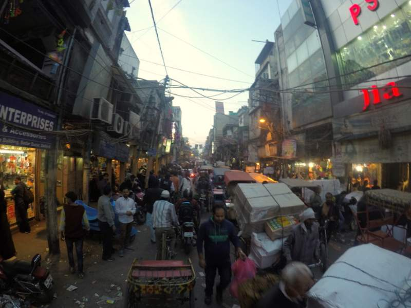 The Chaotic Chandni Chowk in Old Delhi - places to visit in Delhi
