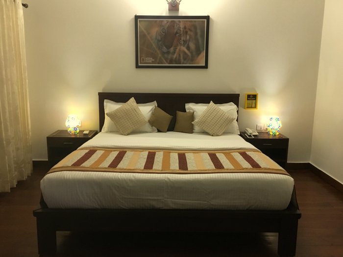 My Bedroom in Soulacia Hotel and Resort, Kanha