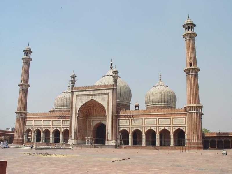 Jama Masjid in Old Delhi - Mosque