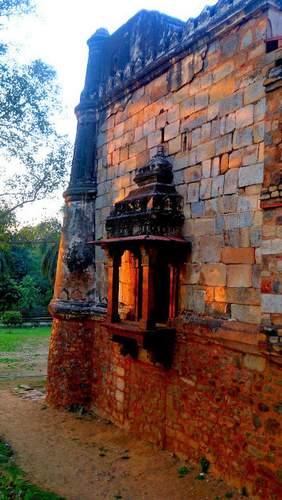 Inside Lodhi Garden, Delhi