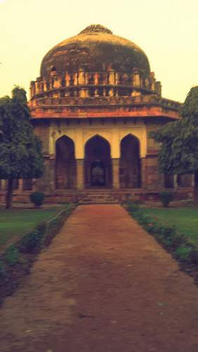 Lodhi Garden tombs - top places to visit in New Delhi