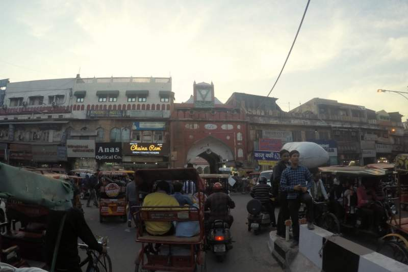 Chandni Chowk in Old Delhi - places to visit in Delhi