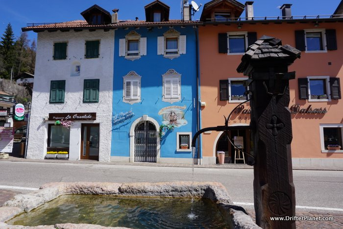 Folgaria in Trentino - the houses here are so colorful